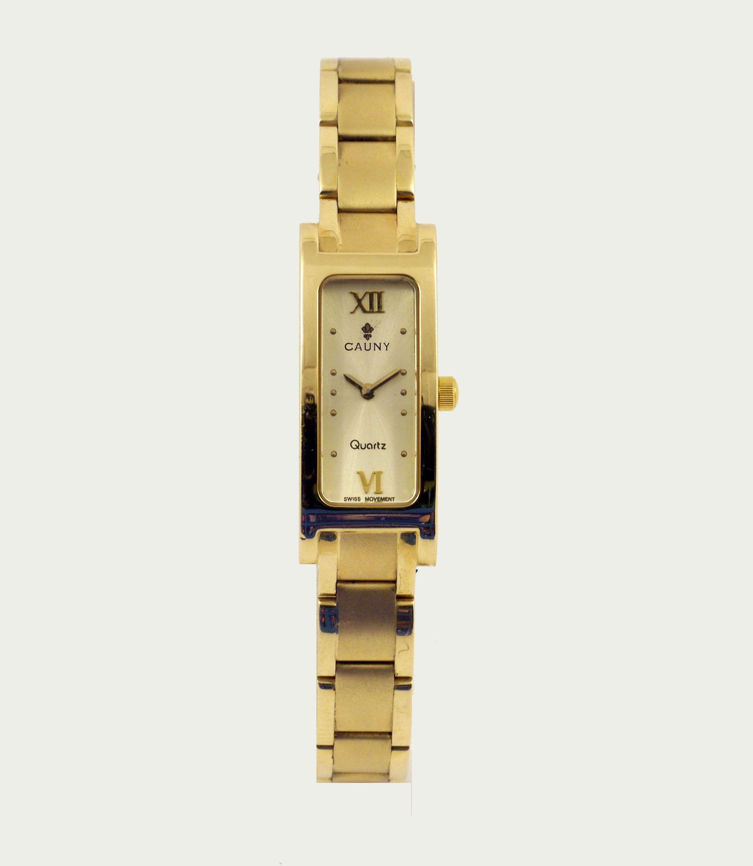 reloj cauny oro de mujer